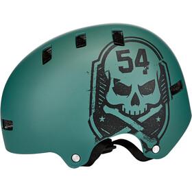 Bell Local Helm matte green/black scull